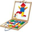 知育玩具 4歳 5歳 6歳 誕生日 誕生日プレゼント DJECO ジオフォーム セット ボックス 木製 木のおもちゃ 男の子 男 女の子 女 | 立体パズル マグネット 磁石 タングラム 幼児 子供 キッズ 小学生 パズル おもちゃ 図形パズル 木のパズル 知育パズル オモチャ