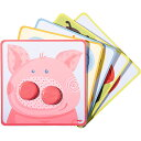 HABA ボタンパズル・アニマル 知育玩具 1歳 2歳 3歳 誕生日 誕生日プレゼント パズル 幼児 知育 子供 男の子 男 女の子 女(一歳 二歳 三歳 玩具 オモチャ 子ども おもちゃ 男児 キッズ)