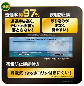 反射防止膜付き液晶テレビ保護パネル(透過率97%以上、反射防止膜、帯電防止機能付き)