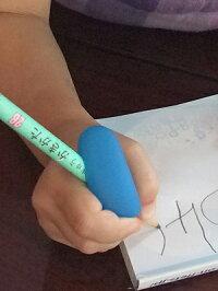 鉛筆持ち方Angelgrip(エンジェルグリップ)筆記矯正器具子供用(右利き専用)鉛筆持ち方