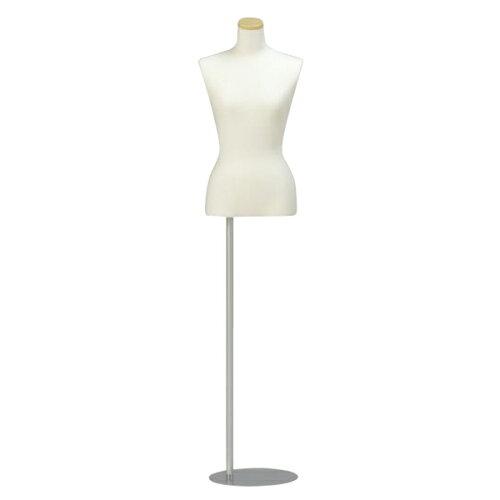 リーズナブルボディ 婦人 BW1-76 腕無 スタンダードタイプ トルソー レディス 手芸 フリマ 洋服