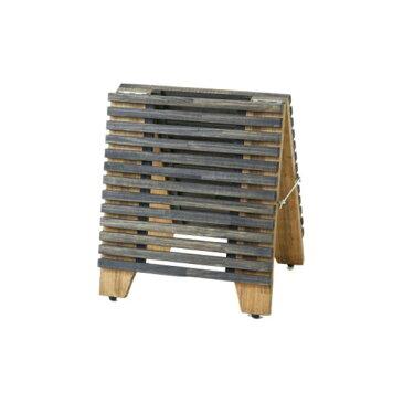 スノコタイプA型看板 ミニサイズ #82001 屋内用 木製 サインボード(選べるスノコカラー)
