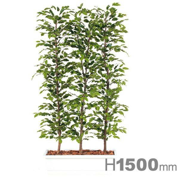 ベンジャミナスプラッシュパーテーション150 96372 本物そっくり 緑化に最適なフェイクグリーン:賑わいマーケット