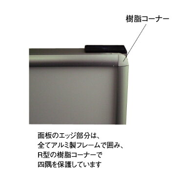 WSKD450x900Kスタンド看板片面ホワイトボードA型看板タイプ