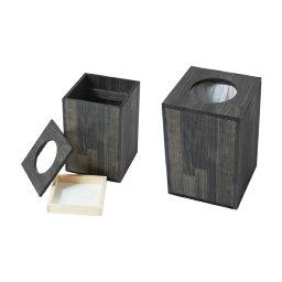 ダストボックス 1型(天フタタイプ) #84000&#84001 木製 トラッシュボックス ゴミ箱 要法人名 【キャンセル不可】  (選べるカラー)