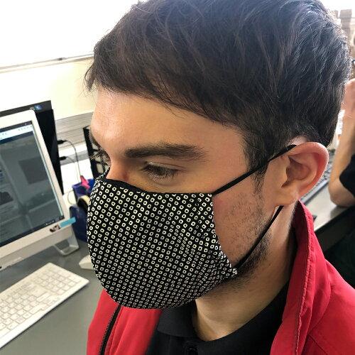 全国TV放送防具屋さんが作る話題の抗菌マスク