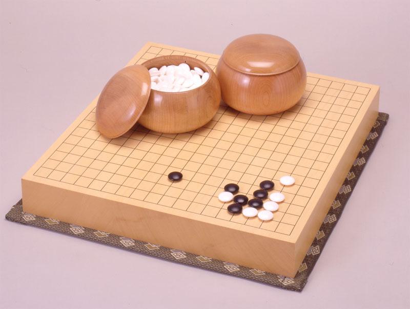 ヒバ二寸接盤セット:日本棋院オンライン囲碁ショップ