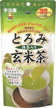 【宇治園】とろみ抹茶入り玄米茶顆粒/粉末/お茶/飲みやすい/高齢者/お年寄り