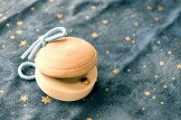 (名入れ)(木のおもちゃ)木製カスタネット(日本製)(木製玩具)(国産材)(カスタネット)(無塗装)
