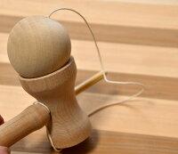 初心者向け/けん玉/名入れ/木地けん玉/木のおもちゃ/木製玩具/昔ながらのおもちゃ/日本製/国産/無塗装【のりけん】