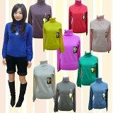 ★ふんわりバルーン袖タートルニットセーター