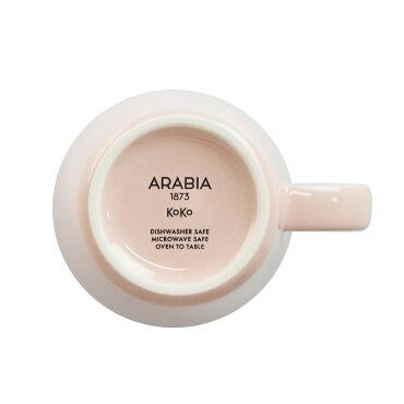 アラビア(ARABIA)KOKOココマグカップペールピンク0.35L