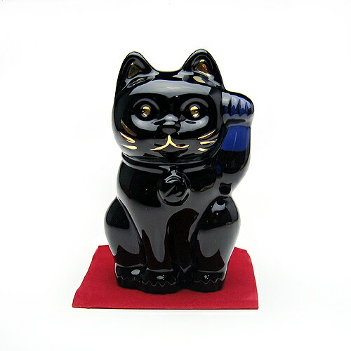バカラ (Baccarat) 招き猫 ミッドナイト 2-607-787
