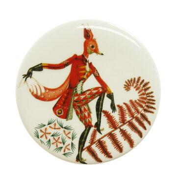 イッタラ (iittala) Tanssi タンシ ウォールプレート 12cm FOX キツネ