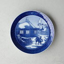 大倉陶園1991年クリスマス碗皿「バンビ」