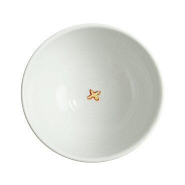 内村七生九谷焼色絵猫茶碗(飯碗)