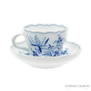 陶磁器の最高峰マイセン、ここに覇を唱える。マイセン(Meissen)ブルーオニオン コーヒーカップ&...