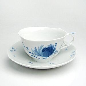 陶磁器の最高峰マイセン、ここに覇を唱える。マイセン(Meissen)青い花 ティーカップ&ソーサー