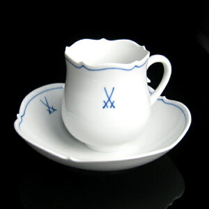 定番人気シリーズマイセンのコーヒーカップ &ソーサー。マイセン(Meissen)マイセンマーク コー...