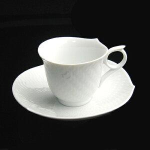 キッチン用品・食器・調理器具 洋食器 コーヒーカップ 陶器マイセン(Meissen)波の戯れホワイ...