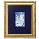マイセン (Meissen) 額装陶画 青のメルヘン 930006/9P334(931733/95N90) いばら姫