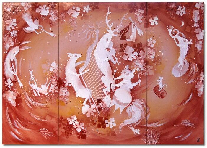 マイセン (Meissen) 陶画 NO.495 動物達の音楽会 【※購入時確認必要※】