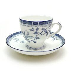 英国の城──わたしのシャトー。ミントン(MINTON)フェイザンブルー コーヒーカップ&ソーサー