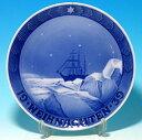 おもちゃ・ホビー・ゲーム 趣味・コレクション イヤープレートロイヤルコペンハーゲン(ROYAL COPENHAGEN)イヤープレート 1939年 -グリーンランドの流氷の中の遠征中の船- 【あす楽対応】