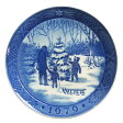 【送料無料祭】ロイヤルコペンハーゲン イヤープレート 1979年 クリスマスツリーを選ぶ【あす楽対応】