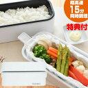 2段式超高速弁当箱炊飯器 お米もおかずもこれ一台 同時調理可