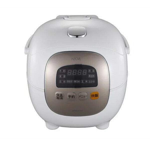 《クーポン配布中》 NEOVE ネオーブ マイコンジャー炊飯器 NRM-M35A 3.5合炊き炊飯器 コンパクト炊飯器 炊飯機 NRMM35A 白米 早炊き 無洗米 玄米 おかゆ 父の日 ギフト