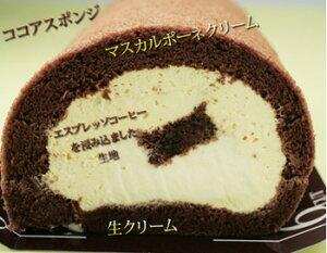 ティラミスロールケーキ/ロールケーキ/誕生日ケーキロールケーキ ティラミスロール(17cm) 【送...