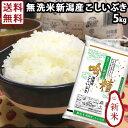 令和元年産 新米 無洗米 送料無料 5kg 吟精 新潟産こしいぶき お米 新潟 ブランド米 ギフト