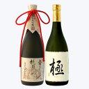 日本酒 母の日 ギフト 男性 女性 飲み比べ 純米大吟醸【桃園の誓い】×大吟醸【極】 720ml×2