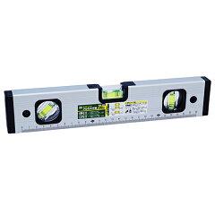 商品リンク:楽天さんからの出展、水平器ALM-300 ※後付けのウッドデッキ階段(後付けウッドデッキステップ)の水平確認に使用する工具