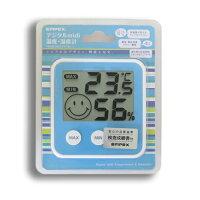 デジタルmidi温度・湿度計TD-8316アクアブルー