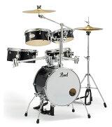 Pearl パール リズムトラベラー Version 3S RT-645N/C #31 ジェットブラック ドラムセット