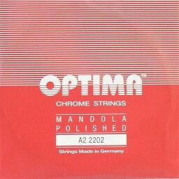 マンドラ弦 OPTIMA オプティマ レッド A2 2202 2本セット ノーマルテンション