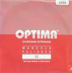 マンドラ弦 OPTIMA オプティマ レッド D3 2203 2本セット ノーマルテンション