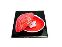 貝合わせ香立「紅桜」