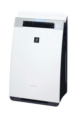 【送料無料】シャープ 加湿 空気清浄機 プラズマクラスター 25000 ハイグレード 21畳 / 空気清浄 34畳 ホワイト KI-GX75-W