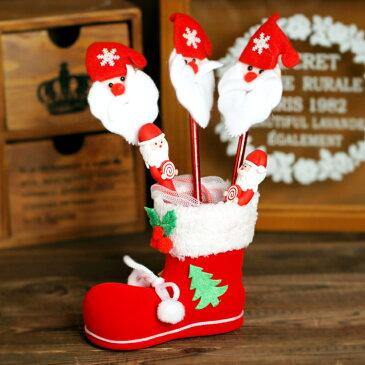 XM X'mas大きな靴下袋 ペンケース 筆箱 クリスマス飾り 装飾 クリスマスパーティー グッズ 雑貨 クリスマス靴下 プレゼント ソックス くつした クリスマス プレゼント 子供 クリスマス 配布ノベリティに最適 お菓子 詰め合わせ