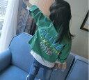 デニムジャケット ジージャン子供服 デニム ジャケット 女の子男の子 デニム クラッシュピンクグリーンホワイトジャケットキッズコート キッズジャケット ガールズジャンパー コート 女の子 子供 コートジャンパー