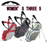 【2016年モデル】サンマウンテン レディース スリーファイブSun Mountain Womens THREE5スタンド キャディバッグ Ladies【日本正規品】【送料無料】