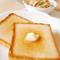 米粉の食パンアレンジ方法バター乗せ