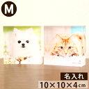 ペット 位牌 写真をモニュメントに・・『メモリアルキューブM』アクリル透明 カラー 割れない ペット仏壇 ペット 仏壇 きれい かわいい 写真立 フォトフレーム 位牌 ペット供養 形見 メモリアル