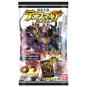 Bandai treasures war テオスマキアチョコ snack third candy toy BOX