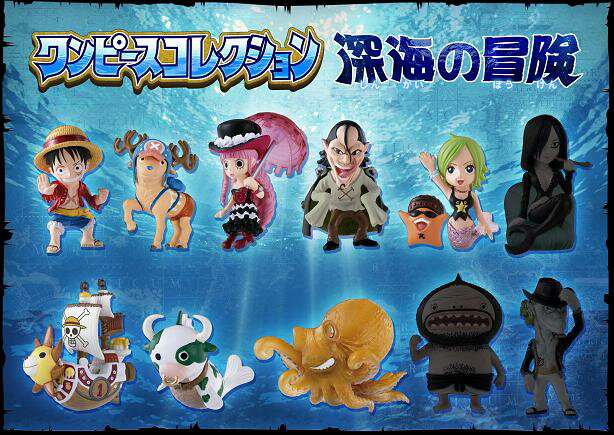One piece adventure food toys BOX
