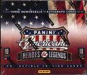 2012 PANINI AMERICANA HEROES & LEGENDS セレブリティ(有名人)トレーディングカード