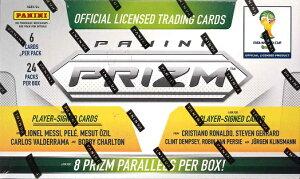 (予約)2014 PANINI PRIZM FIFA WORLD CUP ワールドカップ公式トレーディングカード (4月下旬発売予定)